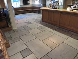 Stone Floor Cleaning Essex